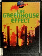Cover of: The greenhouse effect | Tony Hare