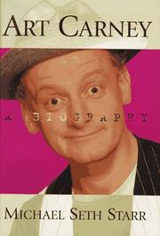 Cover of: Art Carney | Michael Starr