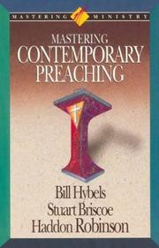 Cover of: Mastering contemporary preaching