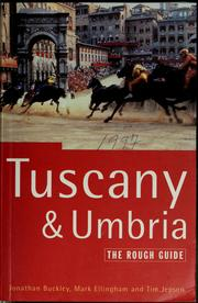 Cover of: Tuscany & Umbria | Jonathan Buckley