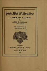 Cover of: Irish mist & sunshine | J. B. Dollard