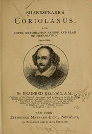 Shakespeare's Coriolanus by William Shakespeare