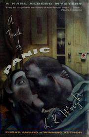 Cover of: A touch of panic | Laurali Wright