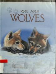 Cover of: We are wolves | Melinda Julietta