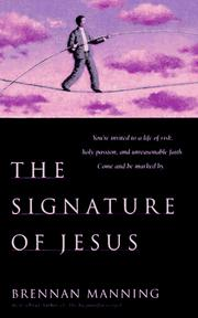 Cover of: The signature of Jesus: on the pages of our lives