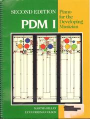 Cover of: Piano for the Developing Musician