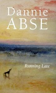 Cover of: Running Late | Abse, Dannie.