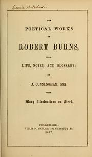 Cover of: Poetical works... | Robert Burns