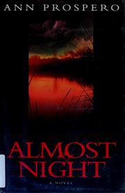 Cover of: Almost night | Ann Prospero