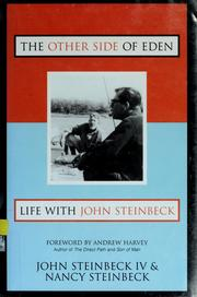Cover of: The other side of Eden | John Steinbeck IV
