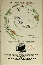 Cover of: Hop, skip, and fly | Irmengarde Eberle