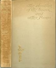 Cover of: The hunting of the snark, and other poems and verses by Lewis Carroll