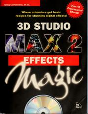 Cover of: 3D Studio MAX 2
