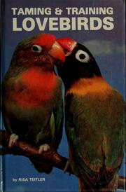 Cover of: Taming & training lovebirds