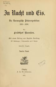 Cover of: In Nacht und Eis