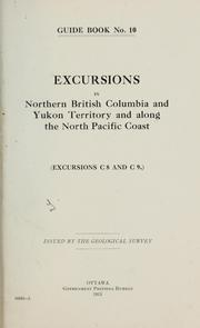 Cover of: Guide book[s of excursions in Canada] | Canada. Geological Survey