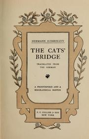 Cover of: The cats' bridge