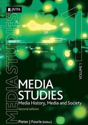 Cover of: Media Studies, Vol. 1 | Pieter J. Fourie