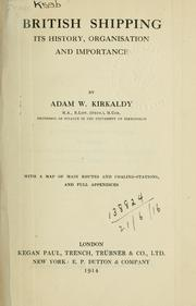 Cover of: British shipping