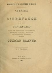Cover of: Washington en el centenario de Bolivar