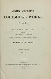 Cover of: Polemical works in Latin
