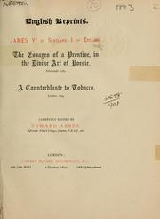 Cover of: The essays of a prentise, in the divine art of poesie