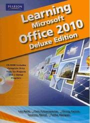 Cover of: Learning Microsoft Office 2010