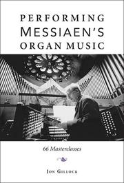 Cover of: Performing Messiaen
