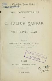 Cover of: Commentaries
