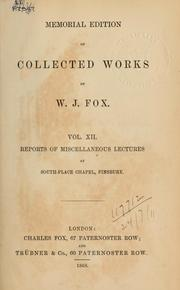 Memorial edition of collected works