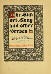 Cover of: The sunset song and other verses