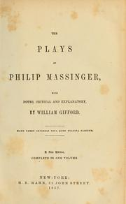 Cover of: Plays