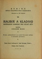 Cover of: Raubíř a kladivo