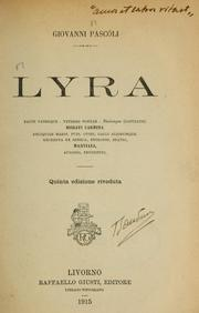 Cover of: Lyra