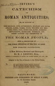 Cover of: Irving's Catechism of Roman antiquities