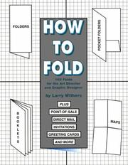 Cover of: Folds by Laurence K. Withers