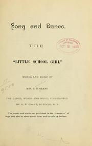 Cover of: Song and dance