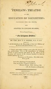 Cover of: Fénelon's treatise on the education of daughters