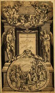 Cover of: A Preparation to the Psalter