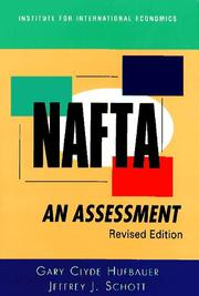 Cover of: NAFTA | Gary Clyde Hufbauer