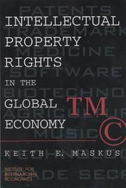 Cover of: Intellectual Property Rights in the Global Economy