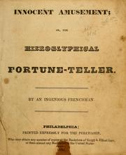 Cover of: Innocent amusement, or the heiroglyphical fortune teller
