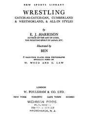 Cover of: Wrestling | E. J. Harrison