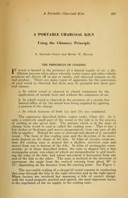 Cover of: A portable charcoal kiln using the chimney principle