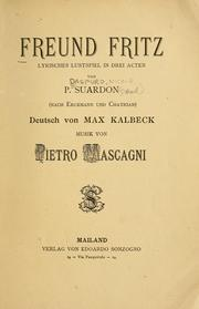 Cover of: Freund Fritz