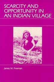 Cover of: Scarcity and Opportunity in an Indian Village