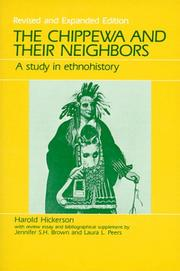 The Chippewa and their neighbors by Harold Hickerson