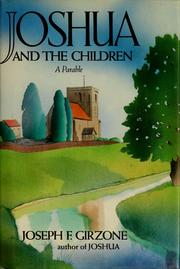 Cover of: Joshua and the children