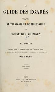 Cover of: Le guide des égarés