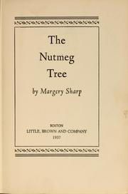 Cover of: The nutmeg tree